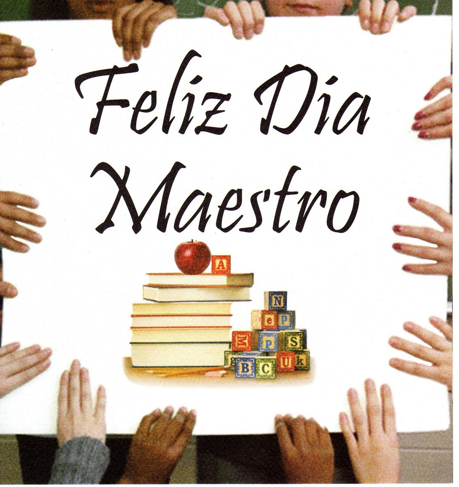 Tarjetas del Día del maestro - Postales gratis dia del